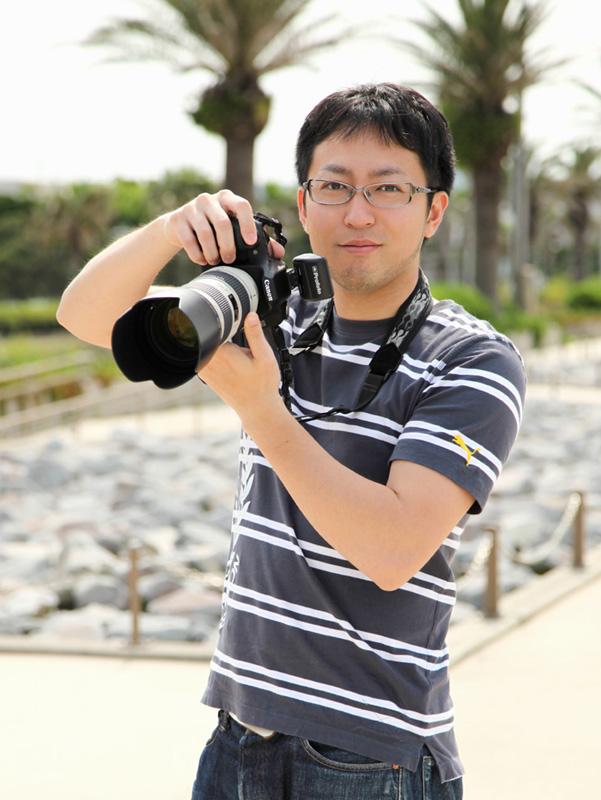 カメラマン塩島のポートレート